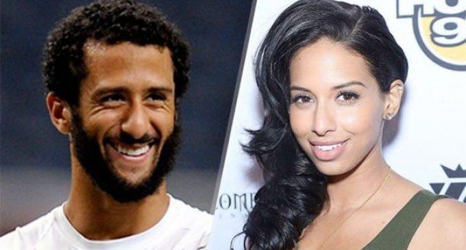 Report: Colin Kaepernick's Communist Muslim Girlfriend Made Him Do It