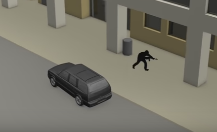 New Video Shows Path of Dallas Cop Killer's Ambush
