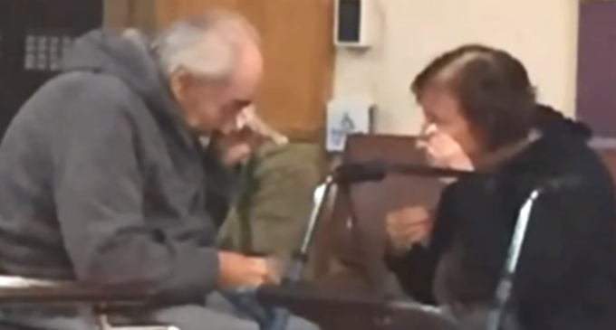 Elderly Couple Forced to Live Apart After 62 Years Due to Gov't Health Care Program