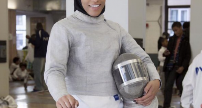 America's First Hijab-wearing Olympian Complains Abroad about Living in America