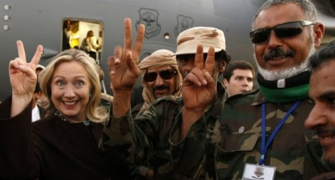 WikiLeaks Revelation: Hillary Clinton Armed ISIS Fighters
