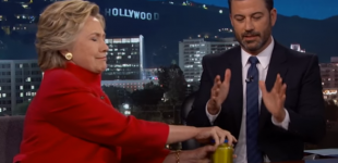 Hillary Opens Pickle Jar to Prove She's in Good Health