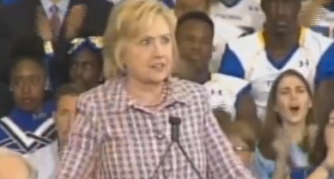 "Hillary Promises ""We are going to raise taxes on the middle class"""