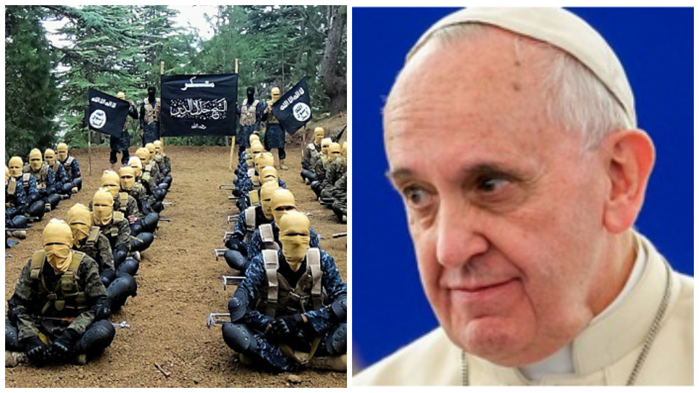 isis pope francis