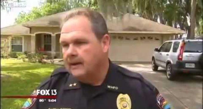 Karma: Burglar Picks the Wrong House