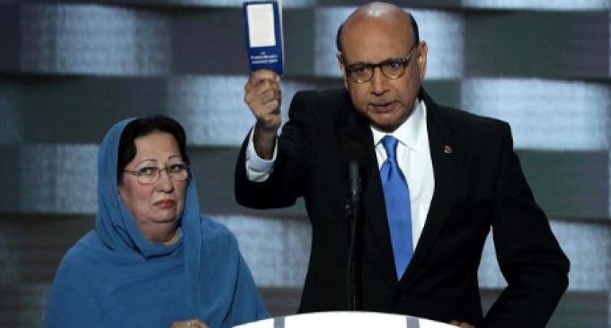 Khizr Khan Deletes Evidence that He Specialized in Muslim Immigration