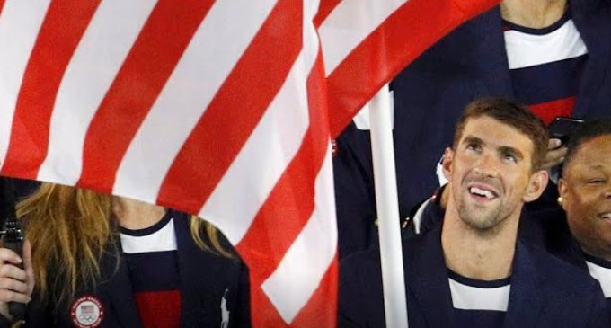 CNN Op-Ed: Michael Phelps Doesn't Deserve to Carry the Flag Because He's a 'Tall, Successful, Rich, White Guy'