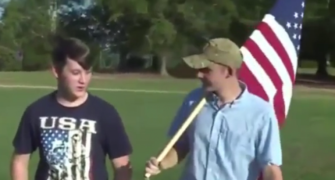 Principal Bans American Flag from Football Games out of 'Respect'