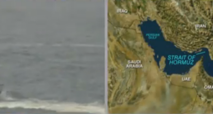 Iranian Vessels Charge at US Ship in Strait of Hormuz, Shots Fired