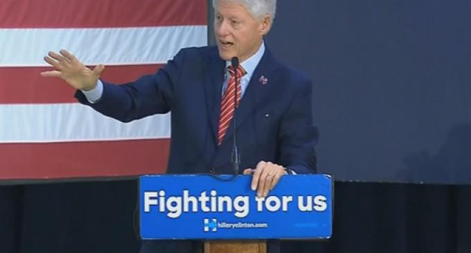 "Bill Clinton: Saying ""Make America Great Again"" is Racist"