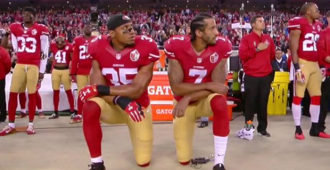 Watch: Florida Teacher Cries as She's Force to Remove Kaepernick Poster