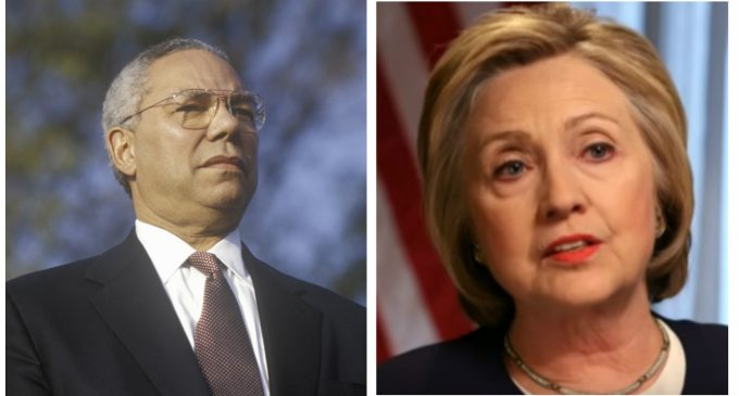 Colin Powell Instructed Hillary on How to Get Around State Department Security