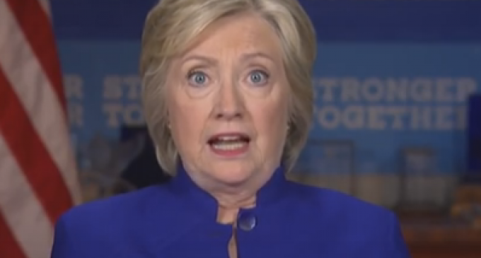 """Hillary Shouts: """"Why aren't I 50 points ahead of Trump?"""""""