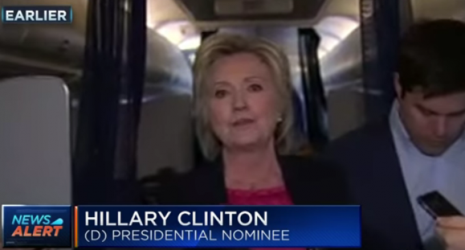 Hillary Lectures Trump: Don't Expose the Fed
