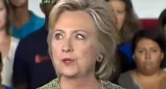 Yet Another Clinton Health Mystery: Her Wandering Eye