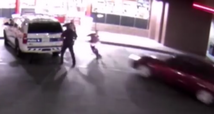 Phoenix Man Intentionally Runs Down Three Police Officers