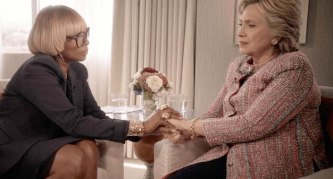 """Hillary Complains That It's Hard for Women to be Both """"Tough and Likable"""""""