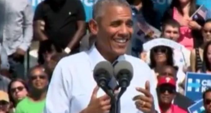Obama Mocks 'Workin' Folks' for Supporting Trump