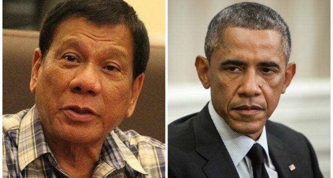 """Philippines President Calls Obama """"Son of a Whore"""""""