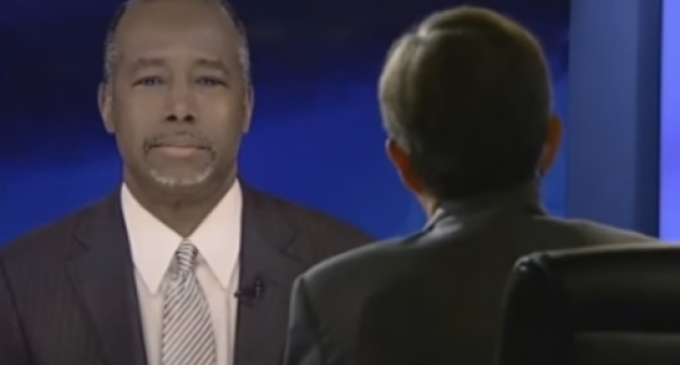 """Chris Wallace Asks Ben Carson: """"Do You Worry You're Being Used as a Prop for Black Voters?"""""""