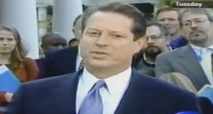 Al Gore Questioned Legitimacy of Electoral Process in 2000 Concession Speech