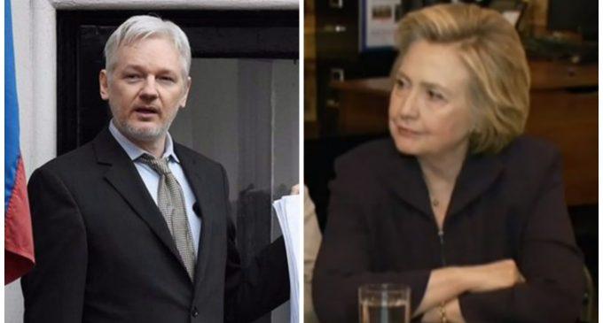 Assange Cancels Live Balcony Announcement Over 'Security Concerns'