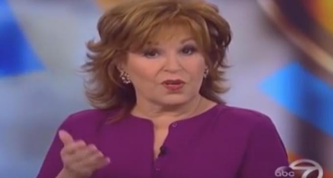 """Joy Behar Calls Bill Clinton Rape Victims """"Tramps"""""""