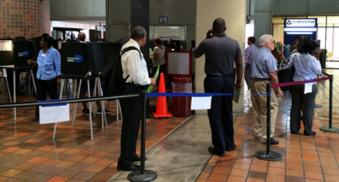 It's Already Starting: Reports of Voting Machines Flipping Votes from Trump to Clinton
