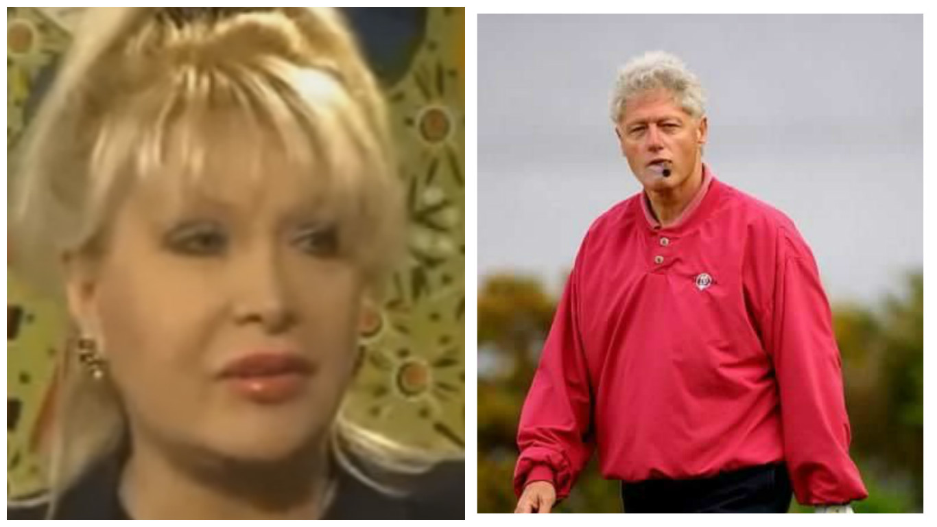 Gennifer Flowers es Forward with What Bill Clinton Did to Their Child Tr