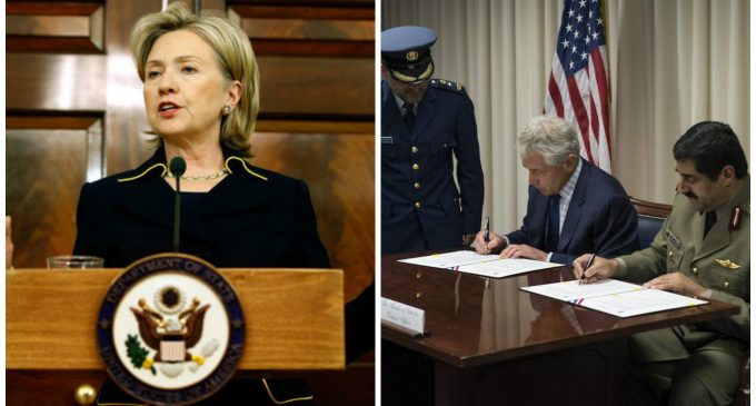 Hillary Clinton Delivers Arms to Terrorists Through Middle East Proxy