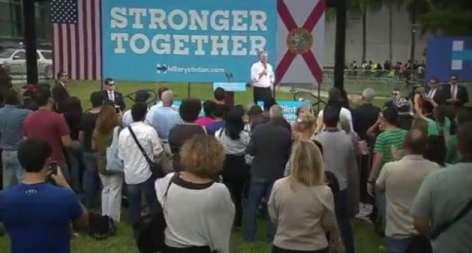 Tim Kaine Rally Faces Embarrassingly Low Turnout