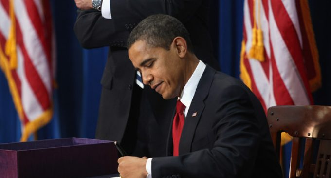 Obama Signs Act Into Law Barring People from Knowing What's in Their Food