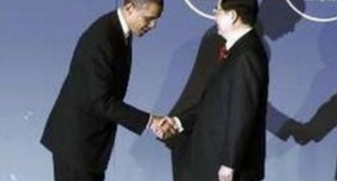 Obama Caves Again, This Time to China