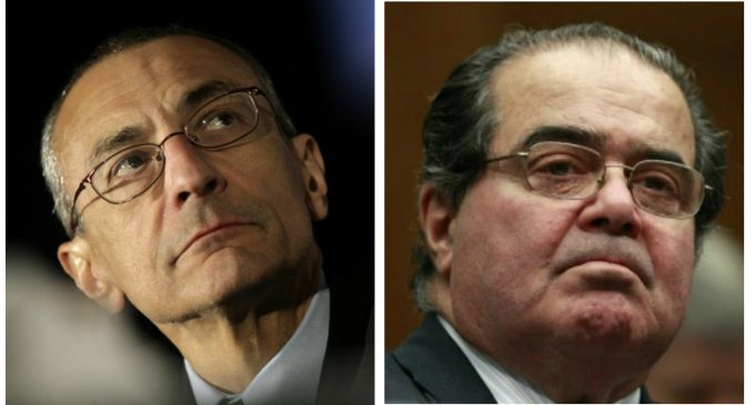 Leaked Podesta Email Suggests Justice Scalia was Assassinated