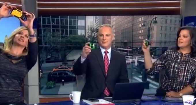 "News Anchor: Secret Service Bans Phones to Prevent a Hillary Clinton ""Seizure"""