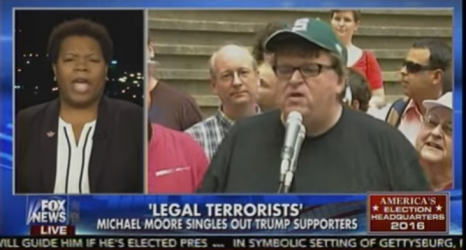"Michael Moore: Trump Voters are ""Legal Terrorists"""