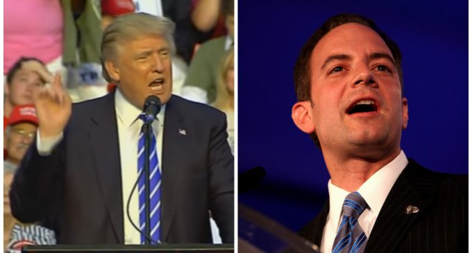 War Declared on Priebus, GOP Establishment for Betraying Trump