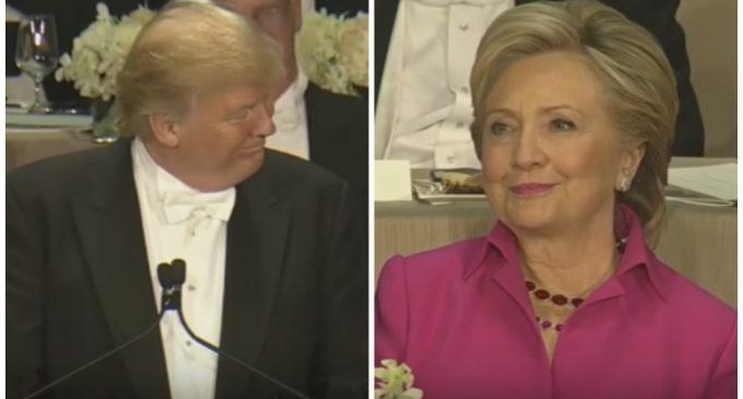 Trump Devastates Hillary at Annual Al Smith Dinner Roast