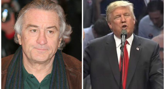 De Niro Backs Off Trump