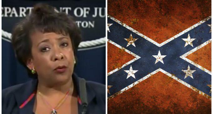 DOJ: The Confederate Flag is 'Indicative of White Supremacy'
