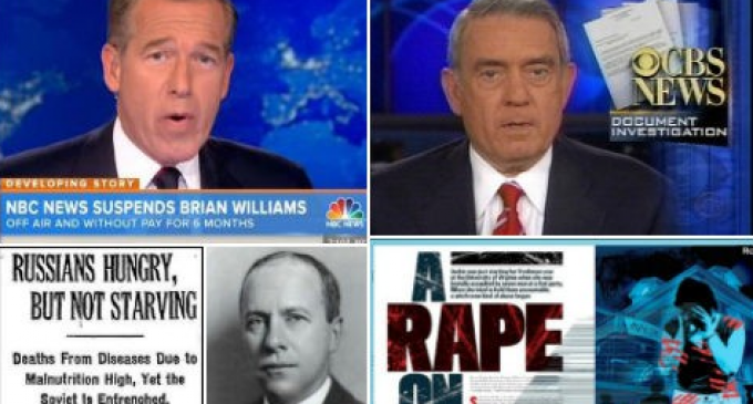 List Gathers 12 Fake News Stories Promoted By MSM