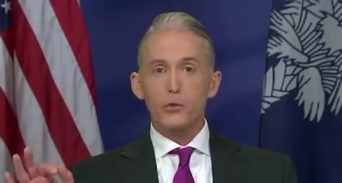 Harry Reid Claims James Comey 'Broke the Law', Gowdy Takes Him Down