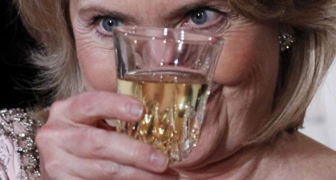 """Report: Hillary in a """"Psychotic Drunken Rage"""", Physically Violent on Election Night"""