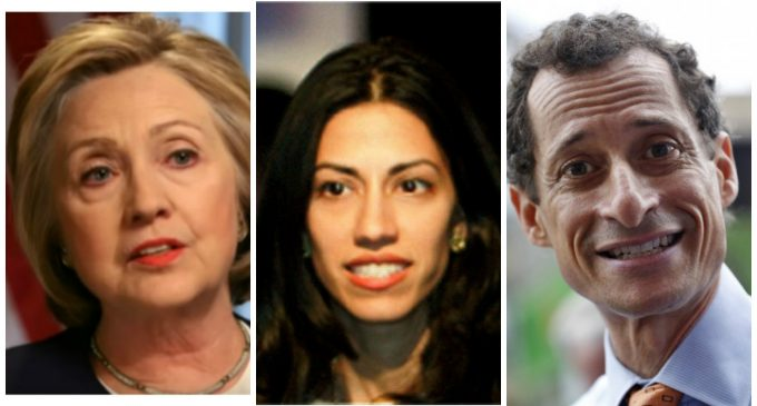 Hillary Asked Huma if Weiner Could Deliver Secure Cell Phone