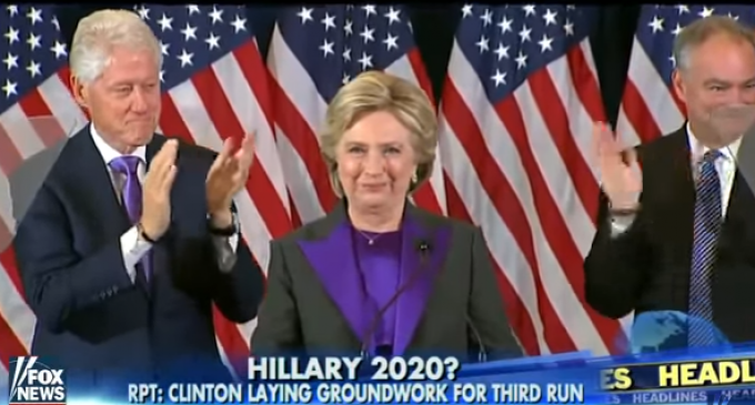 Clinton Reportedly Considering 2020 Rematch