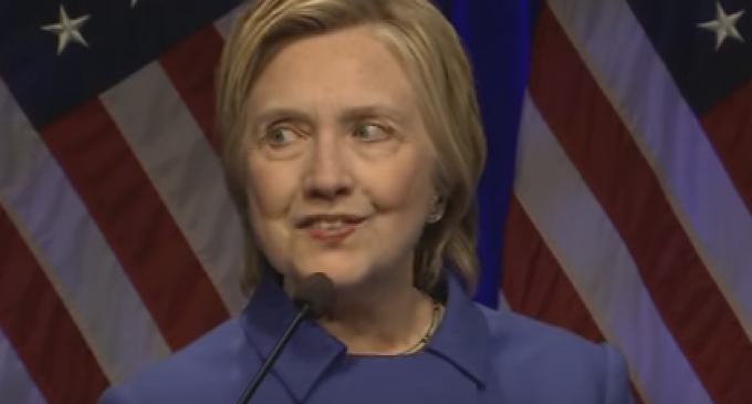 Hillary Surfaces Looking Like Death Warmed Over