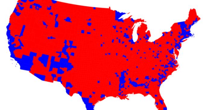 Trump Wins Election in America's Heartland in a Popular Vote Landslide