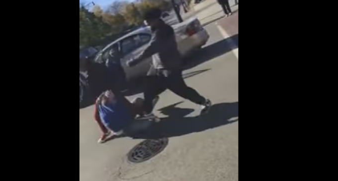 Gang of Blacks Beat Up Man for Voting Trump
