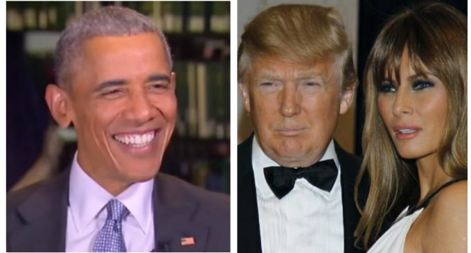 Classless Obama Snubs Donald And Melania Trump out of Time-Honored Tradition