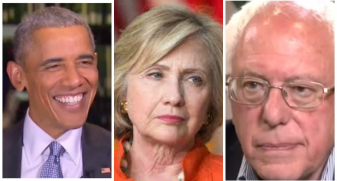 Obama, Clinton and Sanders Complicit in Anti-Trump Protests Raging Across America